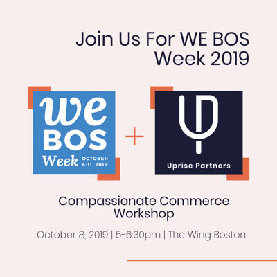 Join Us For WE BOS Week 2019